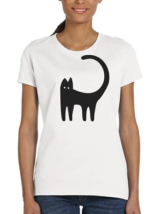 silly cat tshirt