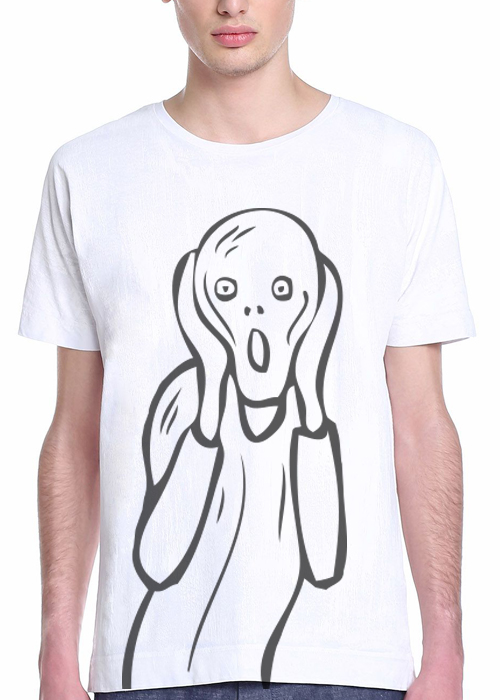 Scream White t-shirt