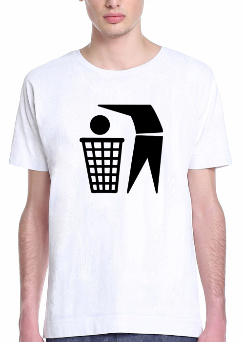 Basketheadball t-shirt 100% pure most sustainable 155 grams organic cotton – T-shirt