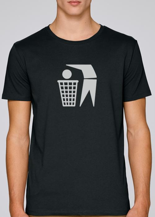 Basketheadball t-shirt100% pure most sustainable 155 grams organic cotton – T-shirt